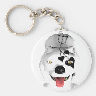 Bobo the Devil Dog Key Chains