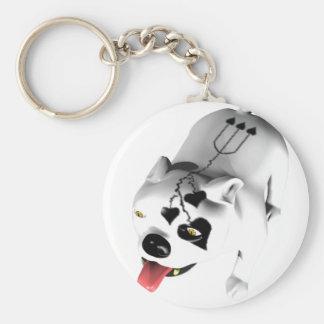 Bobo The Devil Dog Key Chain