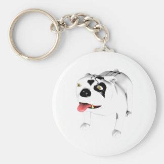 Bobo The Devil Dog Keychains