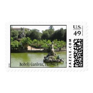 Boboli Gardens, Florence Postage