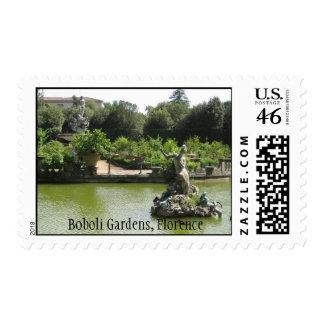 Boboli Gardens Florence Postage Stamps