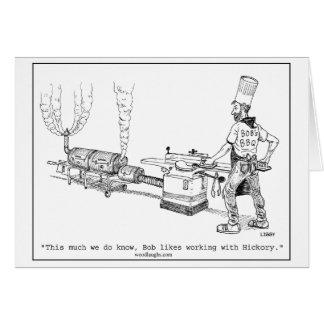 Bob's BBQ Cartoon Card