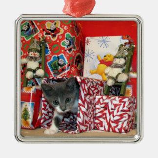 Bob's Christmas Ornament ( Kitten Cat Rescue )