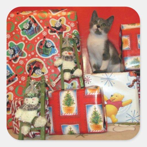 Bob's Christmas Wish Stickers ( Cat / Kitten)