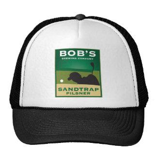 Bob's Sandtrap Pilsner Trucker Hats