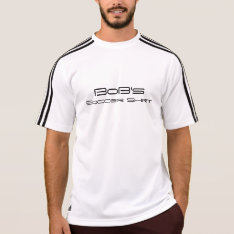 Bob's Soccer Shirt at Zazzle