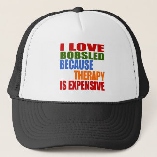 Bobsled Designs Trucker Hat