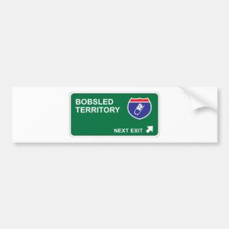 Bobsled Next Exit Bumper Sticker
