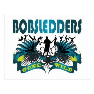 Bobsledders Gone Wild Postcard