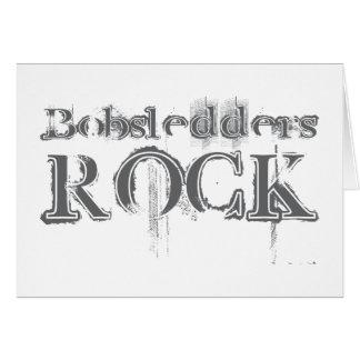 Bobsledders Rock Card