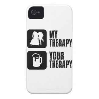 bobsledding mis diseños de la terapia Case-Mate iPhone 4 fundas