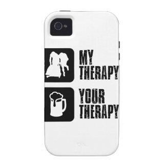 bobsledding mis diseños de la terapia iPhone 4 funda