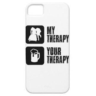 bobsledding mis diseños de la terapia iPhone 5 Case-Mate protectores