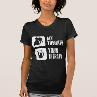 bobsledding  my therapy designs T-Shirt