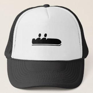 Bobsleigh - Black Trucker Hat
