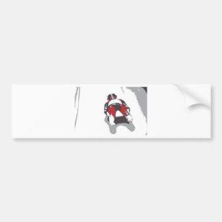 Bobsleigh Bumper Sticker