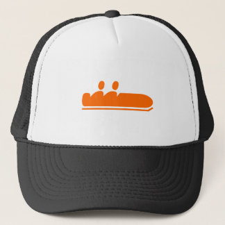 Bobsleigh - Orange Trucker Hat