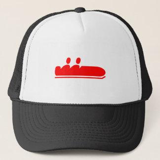 Bobsleigh - Red Trucker Hat