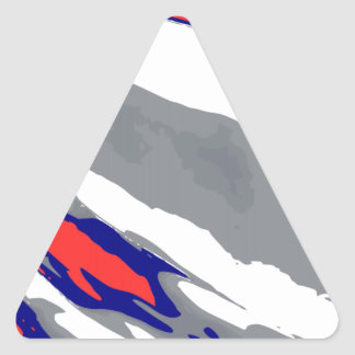 Bobsleigh Triangle Sticker