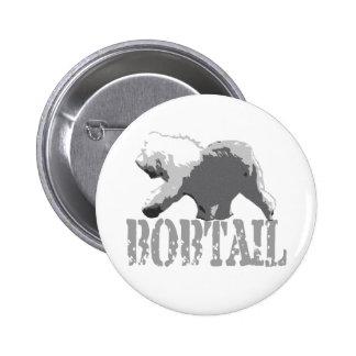 Bobtail 2 Inch Round Button