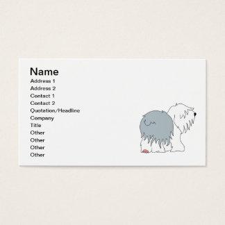 Bobtail Sheepdog Business Card