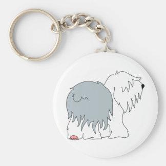 Bobtail Sheepdog Key Chain