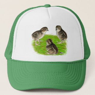Bobwhite Quail Chicks Trucker Hat