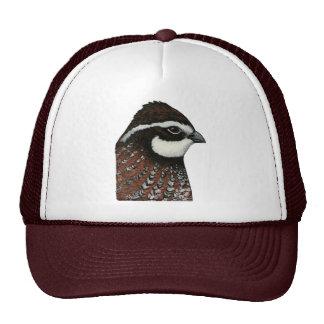 Bobwhite Quail Head Trucker Hat