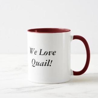 Bobwhite Quail Head Mug