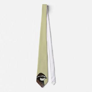 Bobwhite Quail Head Neck Tie