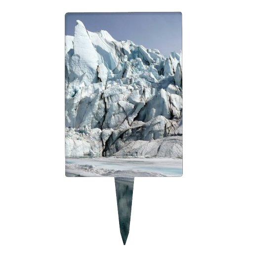 Boca Alaska del glaciar de Matanuska Palillos De Tarta