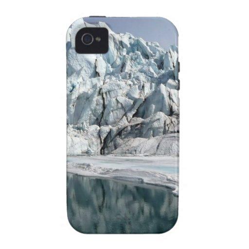 Boca Alaska del glaciar de Matanuska iPhone 4/4S Carcasa