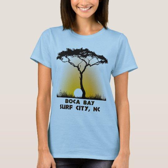 Boca Bay Surf City NC T-Shirt