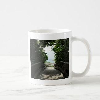 Boca Beach Boardwalk Coffee Mug