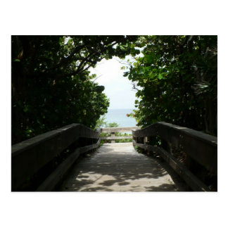Boca Beach Boardwalk Postcards