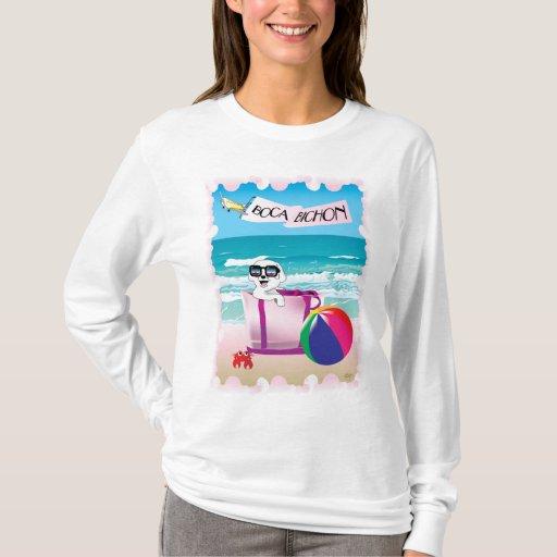 Boca Bichon: La camiseta envuelta de las mujeres
