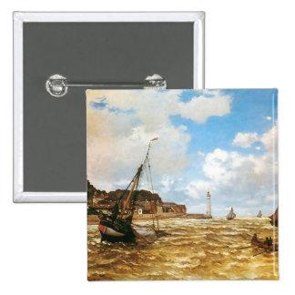 Boca de Claude Monet del Sena Pins
