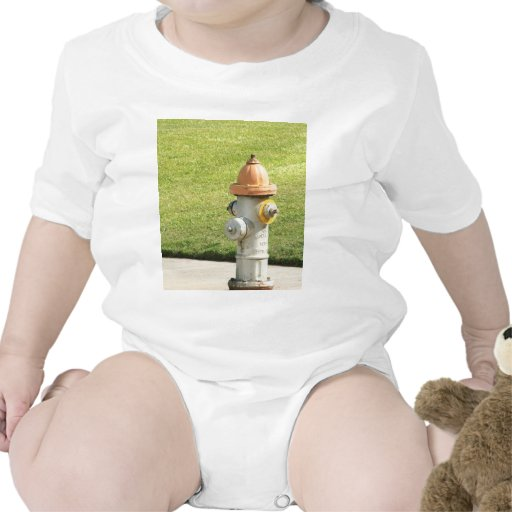Boca de incendios traje de bebé