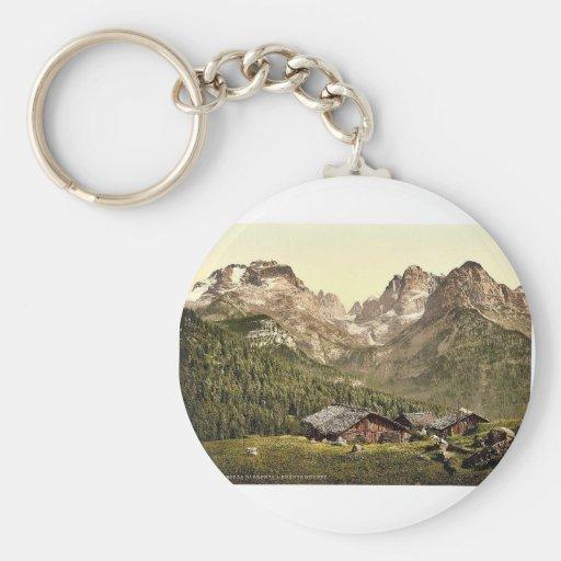 Boca del Brenta y del grupo de Brenta, el Tyrol, A Llavero Redondo Tipo Pin