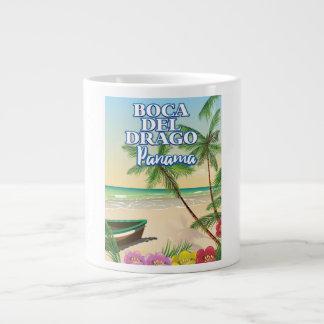 Boca del Drago Panama Beach travel poster Giant Coffee Mug