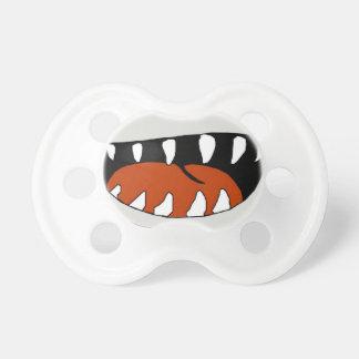 Boca del tiburón chupete de bebe