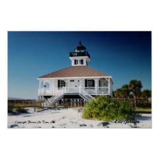 Boca Grande Lighthouse Poster