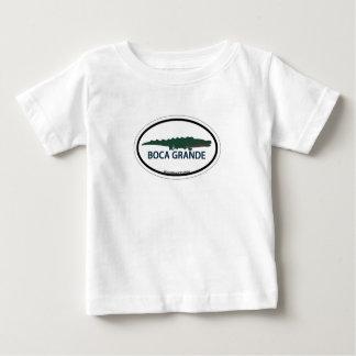 Boca Grande - Oval Design. Baby T-Shirt
