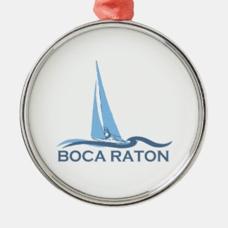 Boca Grande - Sail Design. Metal Ornament