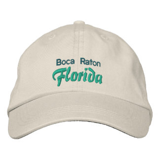 BOCA RATON 1 casquillo Gorras De Beisbol Bordadas