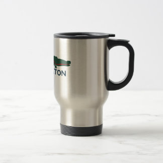 Boca Raton - Alligator. 15 Oz Stainless Steel Travel Mug