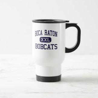 Boca Raton - Bobcats - High - Boca Raton Florida 15 Oz Stainless Steel Travel Mug