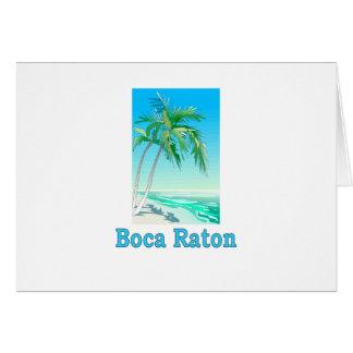 Boca Raton Card