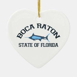 Boca Raton. Ceramic Ornament