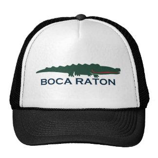 Boca Raton - cocodrilo Gorras